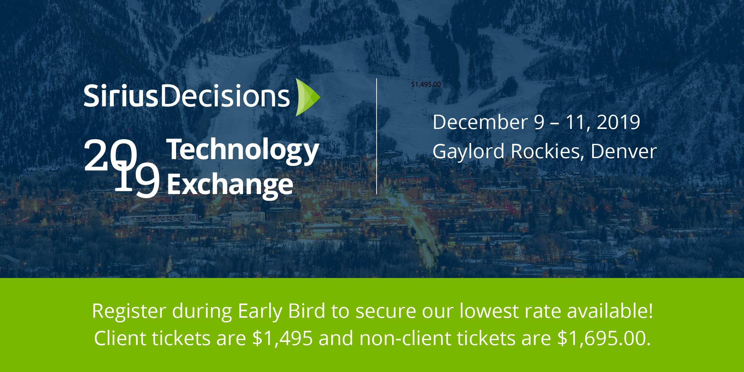 SiriusDecisions 2019 Tech Exchange
