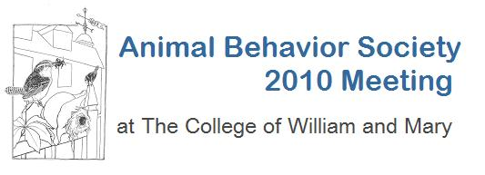 Animal Behavior Society 2010 Meeting