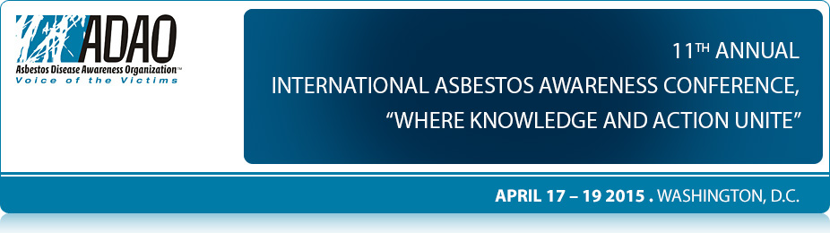 2015 International Asbestos Awareness Conference