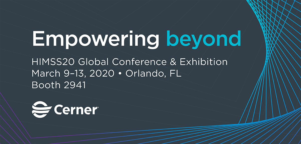 Cerner Investment Community Meeting at HIMSS 2020
