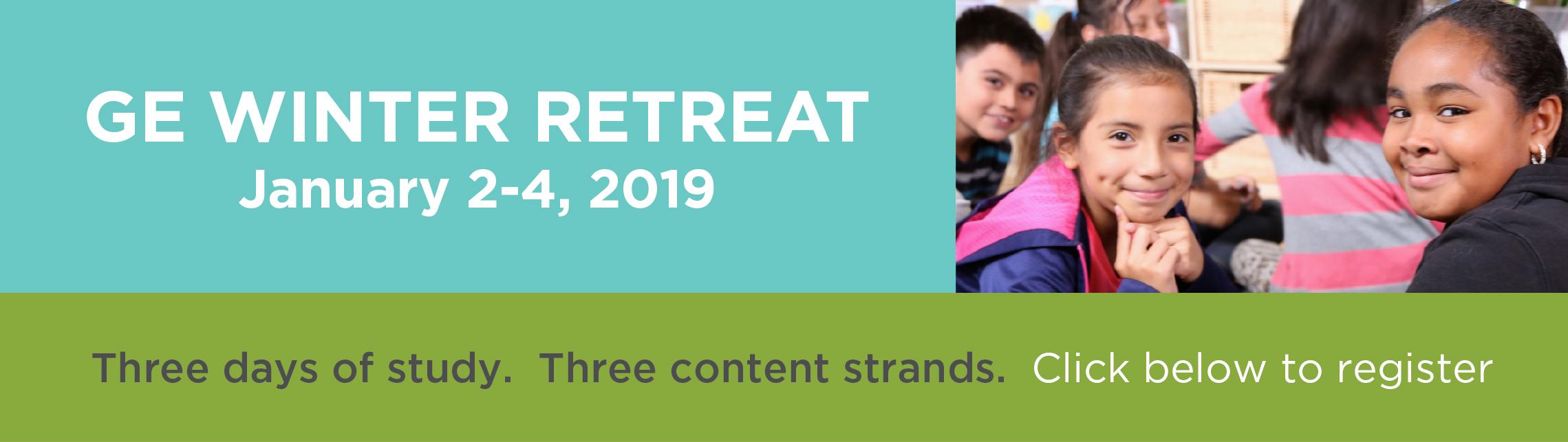 2019 GE Winter Retreat