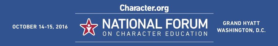 Live-streaming 2016 National Forum on Character Education