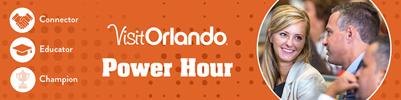 Visit Orlando Power Hour Networking Lunch - 03.28.2018