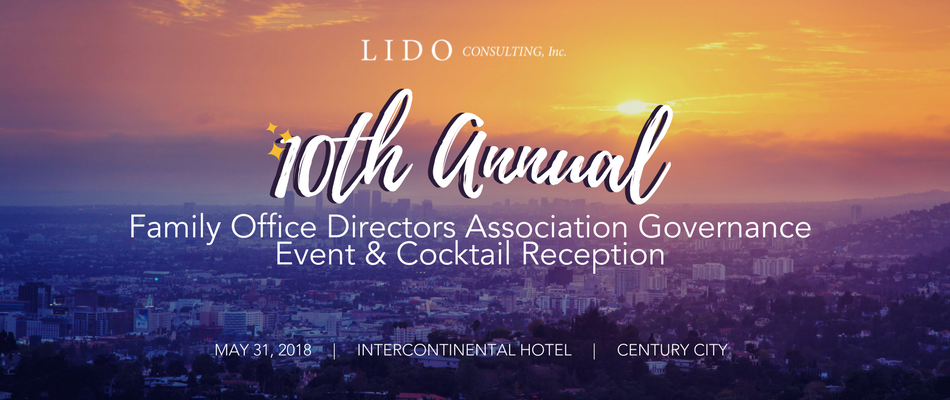 10th Annual Family Office Directors Association Governance Event & Cocktail Reception