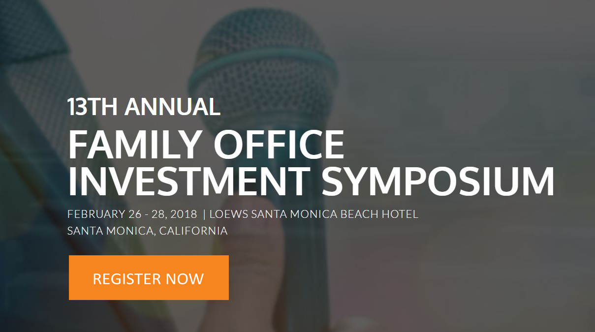 2018 Family Office Investment Symposium