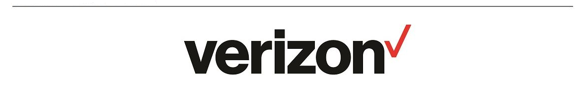 Verizon Logo with Line OnTop