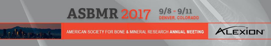 ASBMR 2017 Annual Meeting