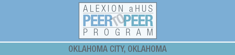 Alexion aHUS Peer-To-Peer Program: Oklahoma City, OK