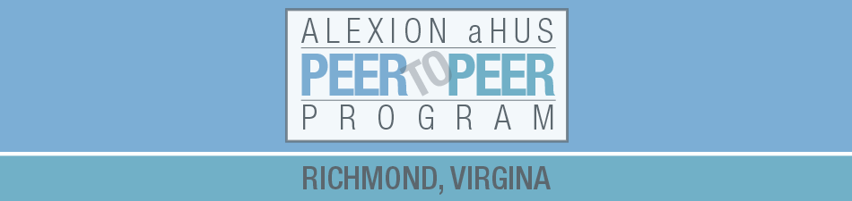 Alexion aHUS Peer-To-Peer Program: Richmond, VA