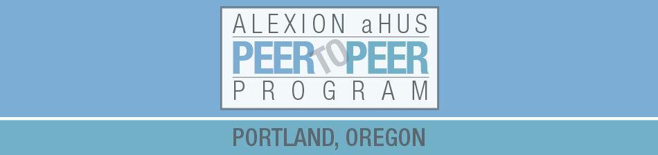 Alexion aHUS Peer-To-Peer Program: Portland, OR