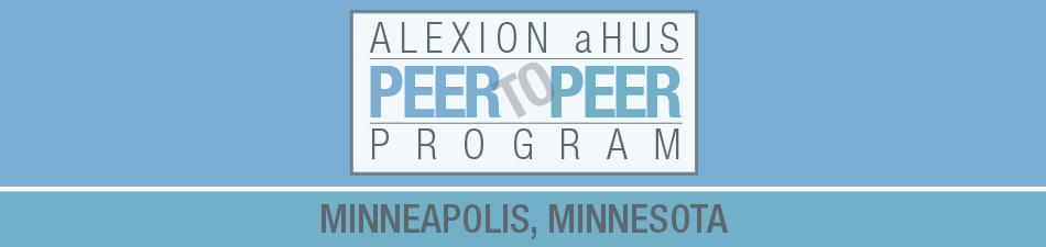 Alexion aHUS Peer-To-Peer Program: Minneapolis, MN