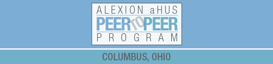 Alexion aHUS Peer-To-Peer Program: Columbus, OH