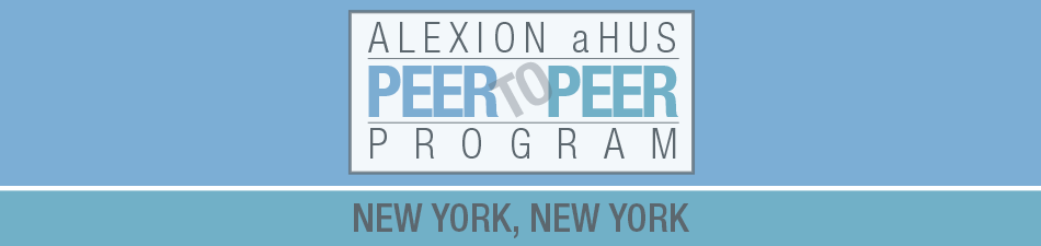 Alexion aHUS Peer-To-Peer Program: New York, NY
