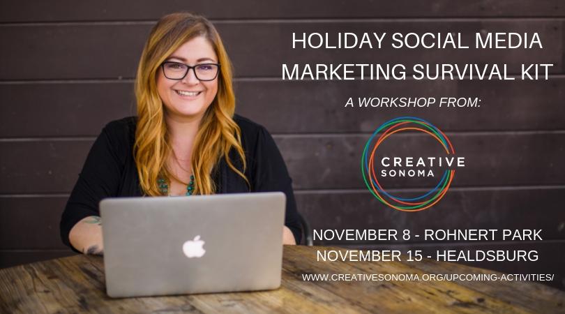 Holiday Social Media Marketing Survival Kit  (HEALDSBURG)