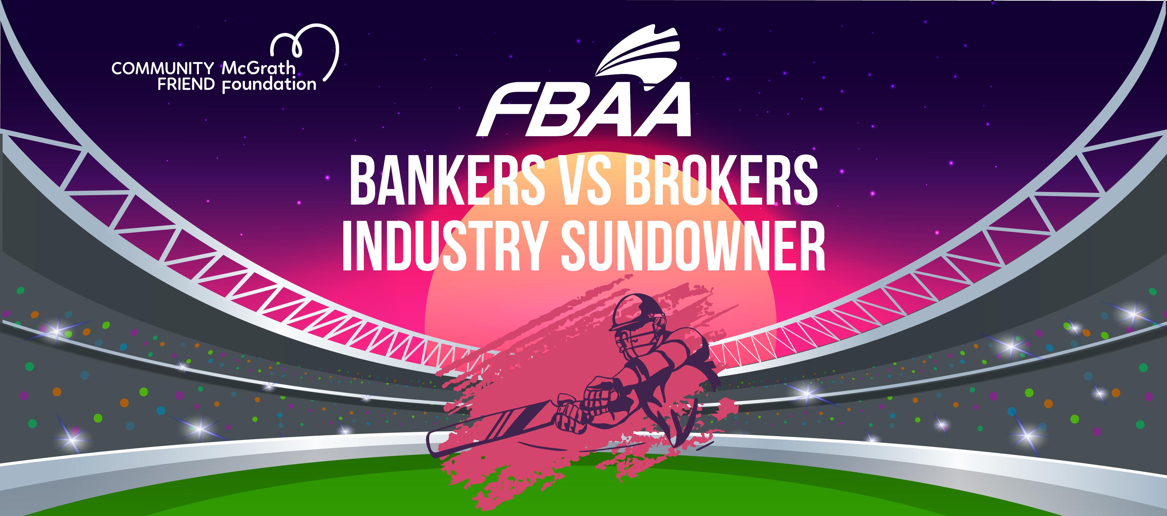 WA Bankers vs Brokers - FBAA Industry Sundowner