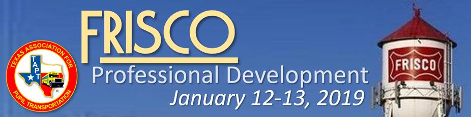 2019 Frisco Professional Development