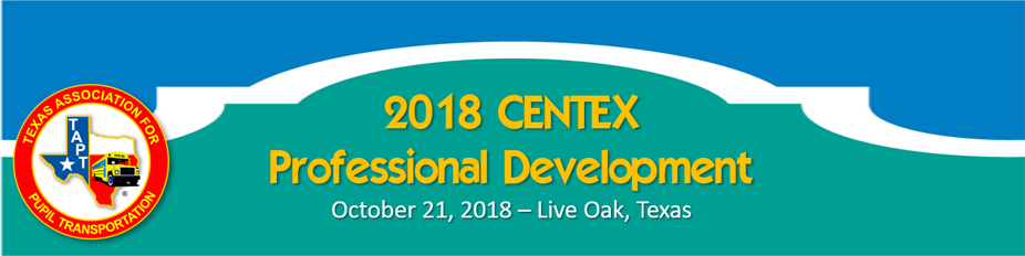 2018 CENTEX Professional Development Classes