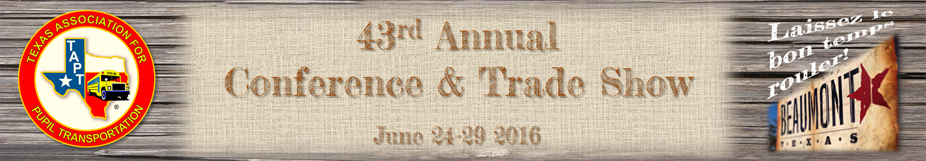 43rd Annual TAPT Conference & Trade Show