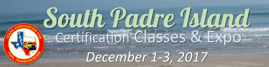 2017 South Padre Island Certification Classes & Expo