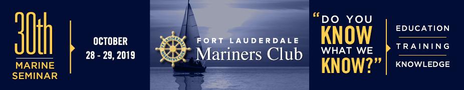2019 Fort Lauderdale Mariners Club Seminar