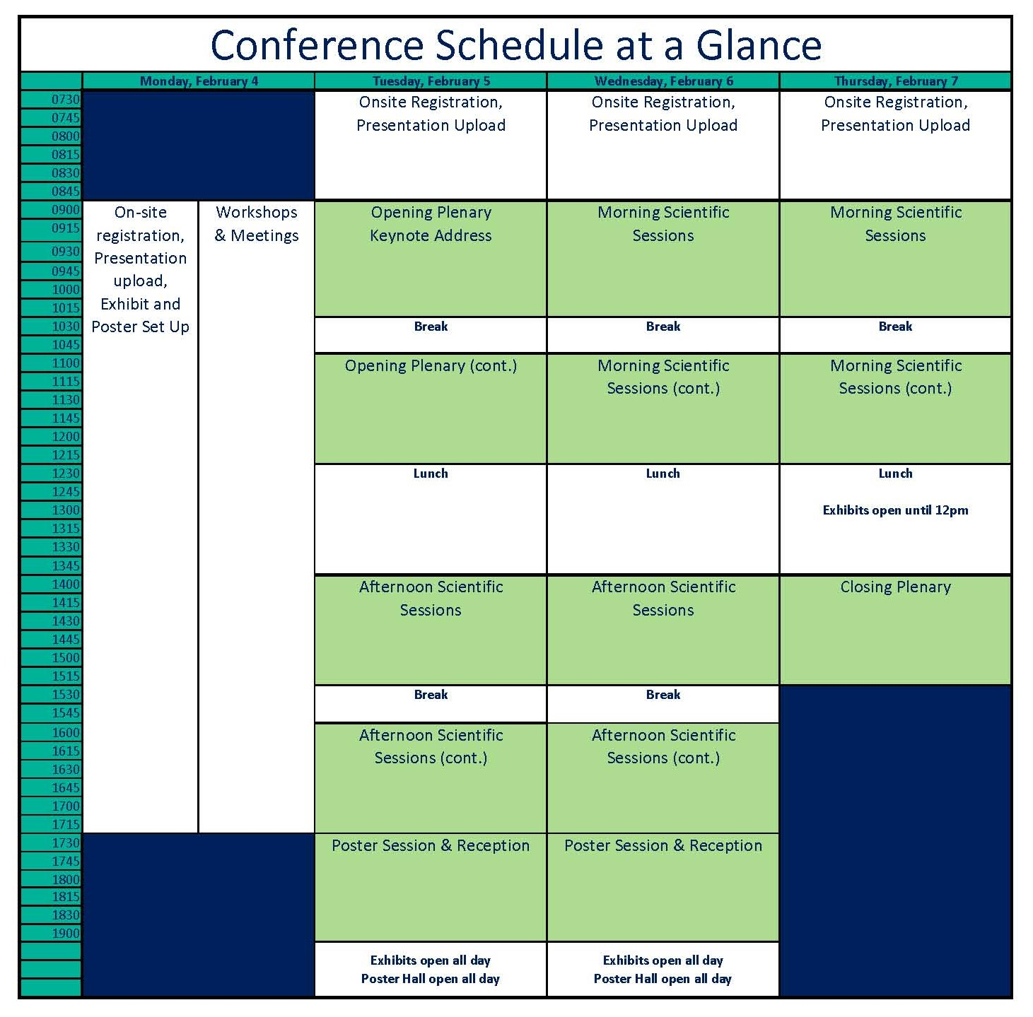 conference schedule sept 20 no gomri