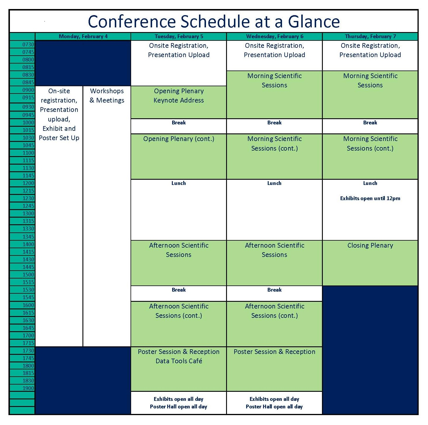 conference schedule dec 17 no gomri