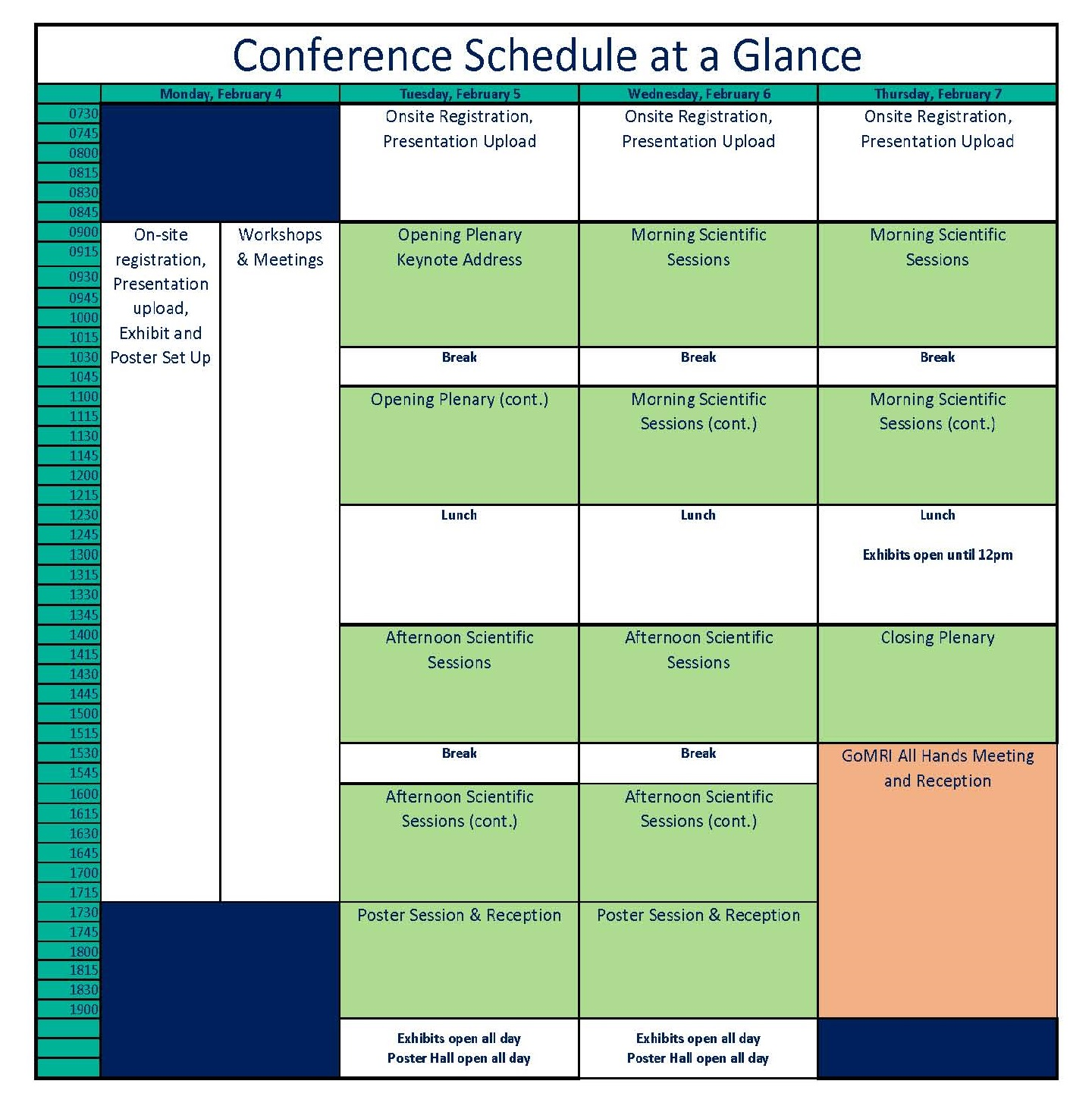 conference schedule sept 20 w gomri