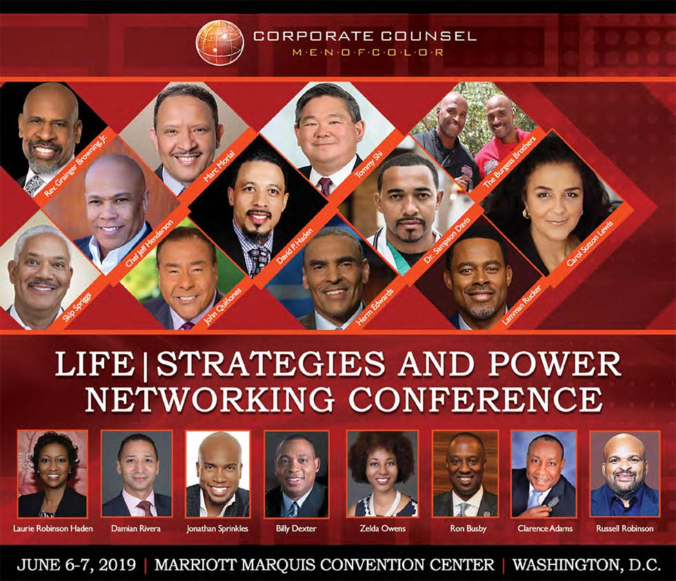 Men of Color Career | Life Strategies and Power Networking Conference 2019