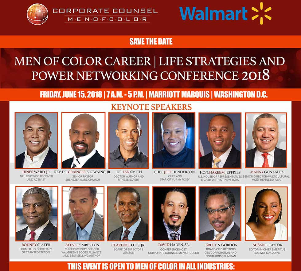 Men of Color: Career | Life Strategies and Power Networking Conference 2018