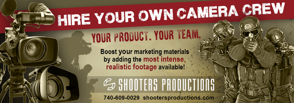 Hire your own camera crew at the Mock Prison Riot! Contact Shooter Productions at shooterproductions.com, or (740) 609-0029, for additional details.