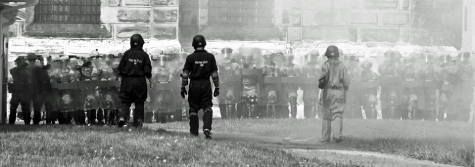 Mock Prison Riot 2015