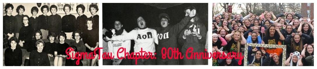 The 80th Anniversary Celebration of Alpha Omicron Pi, Sigma Tau Chapter