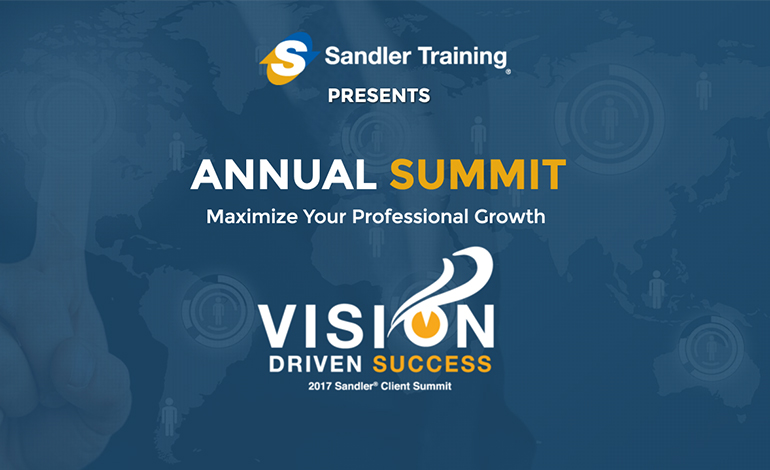 2017 Sandler Annual Sales & Leadership Summit