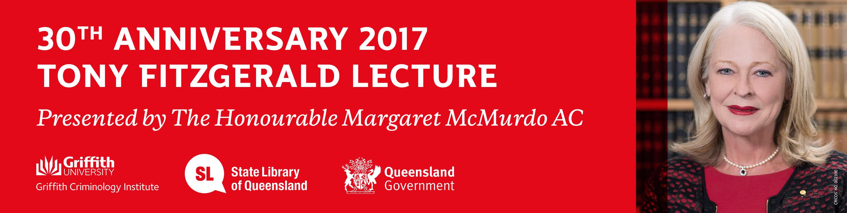 2017 Tony Fitzgerald Lecture