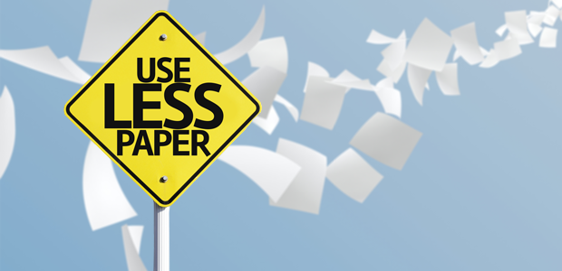 Use less paper