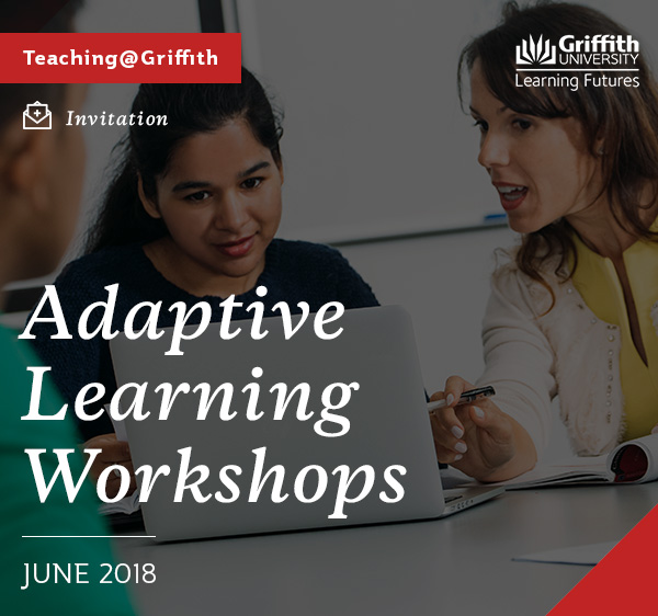 Adaptive Learning Workshops in June 2018