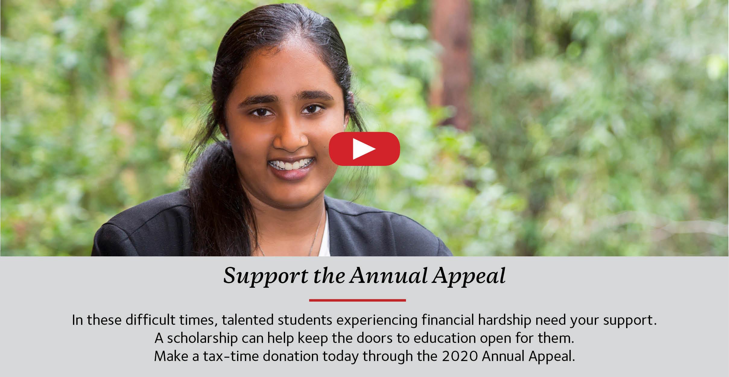 Annual Appeal 30 June
