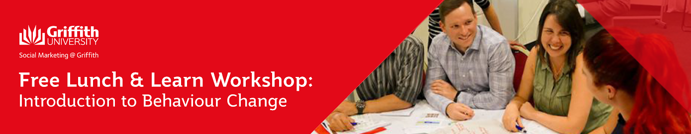 Free Lunch & Learn - Introduction to Behaviour Change Workshop