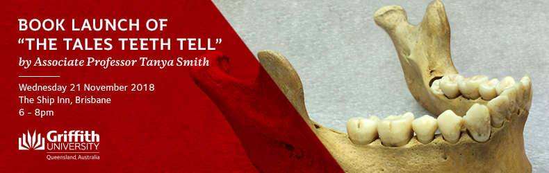 """""""The Tales Teeth Tell"""" with Associate Professor Tanya Smith"""