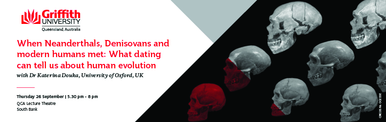 'What dating can tell us about human evolution' with Dr Katerina Douka
