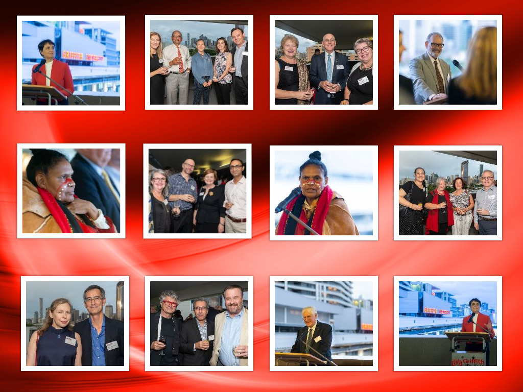 Welcome Reception collage