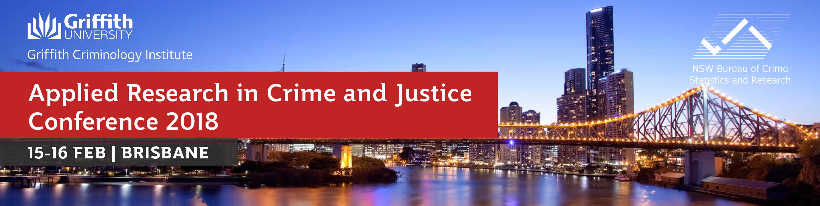 2018 Applied Research in Crime and Justice Conference