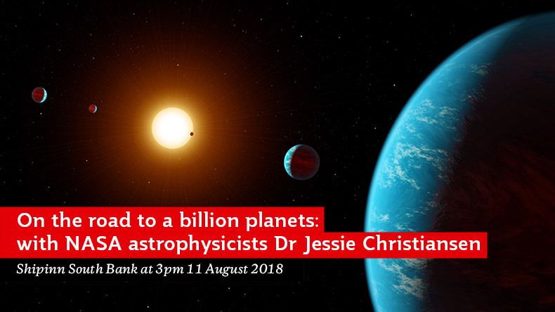 On the Road to a Billion Planets: with NASA astrophysicist Jessie Christiansen