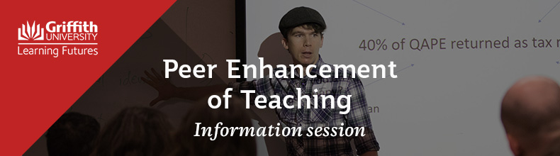 Peer Enhancement of Teaching Information Session