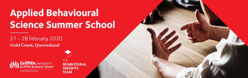 Applied Behavioural Science Summer School