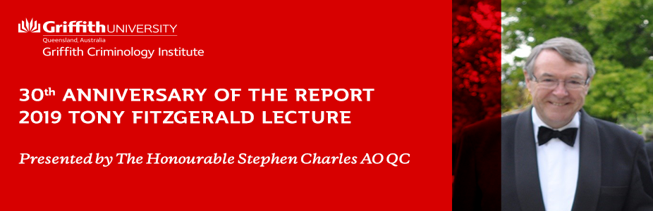 2019 Tony Fitzgerald Lecture