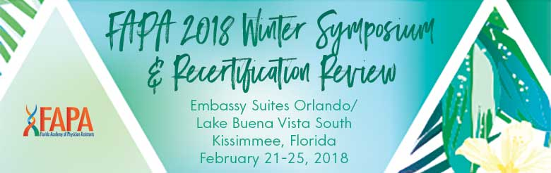 FAPA 2018 Winter Symposium & Recertification Review