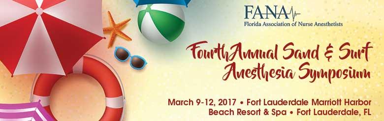 Fourth Annual FANA Sand & Surf Anesthesia Symposium