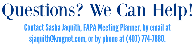 FAPA Questions We Can Help