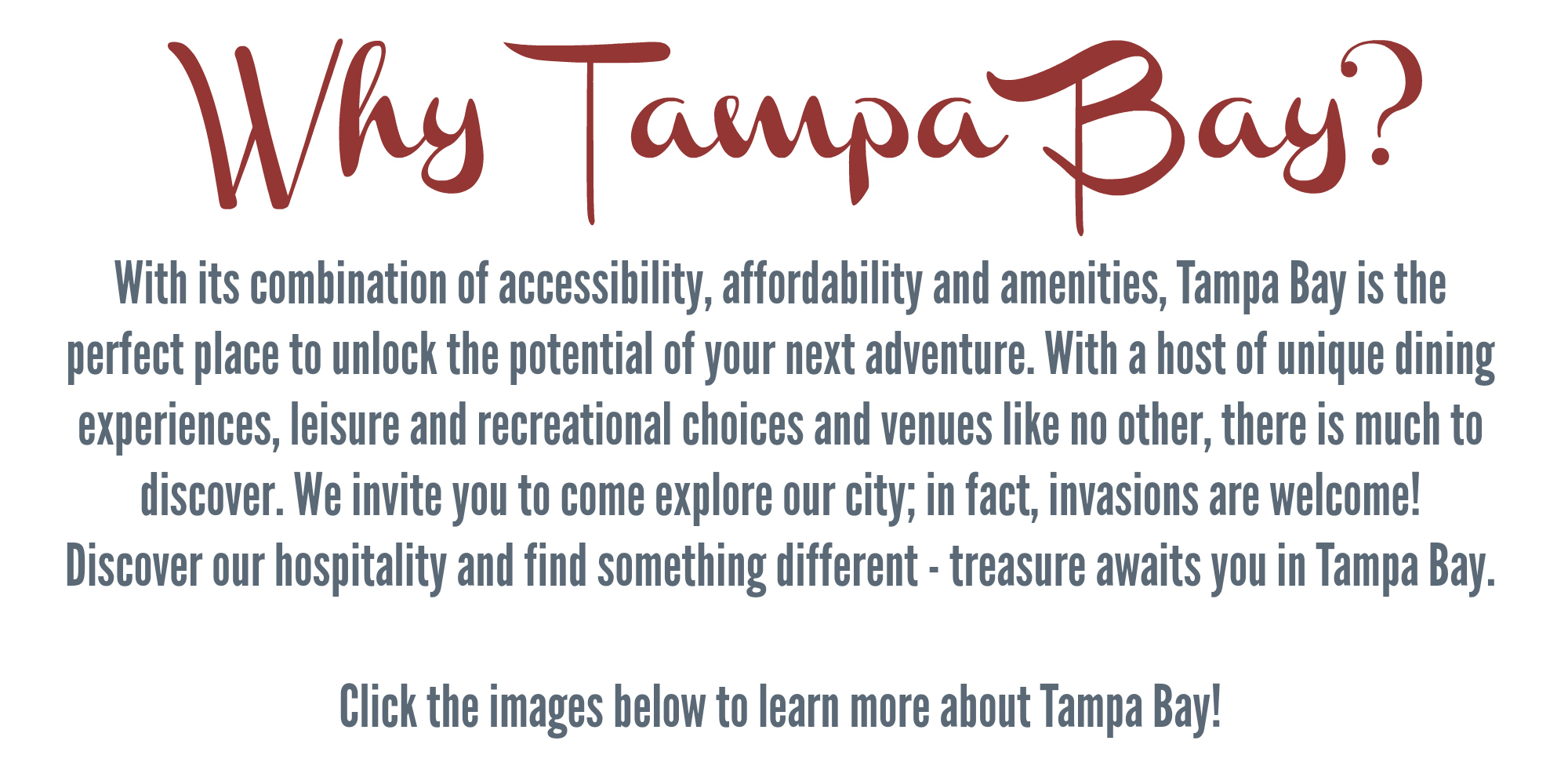 Why Tampa Bay